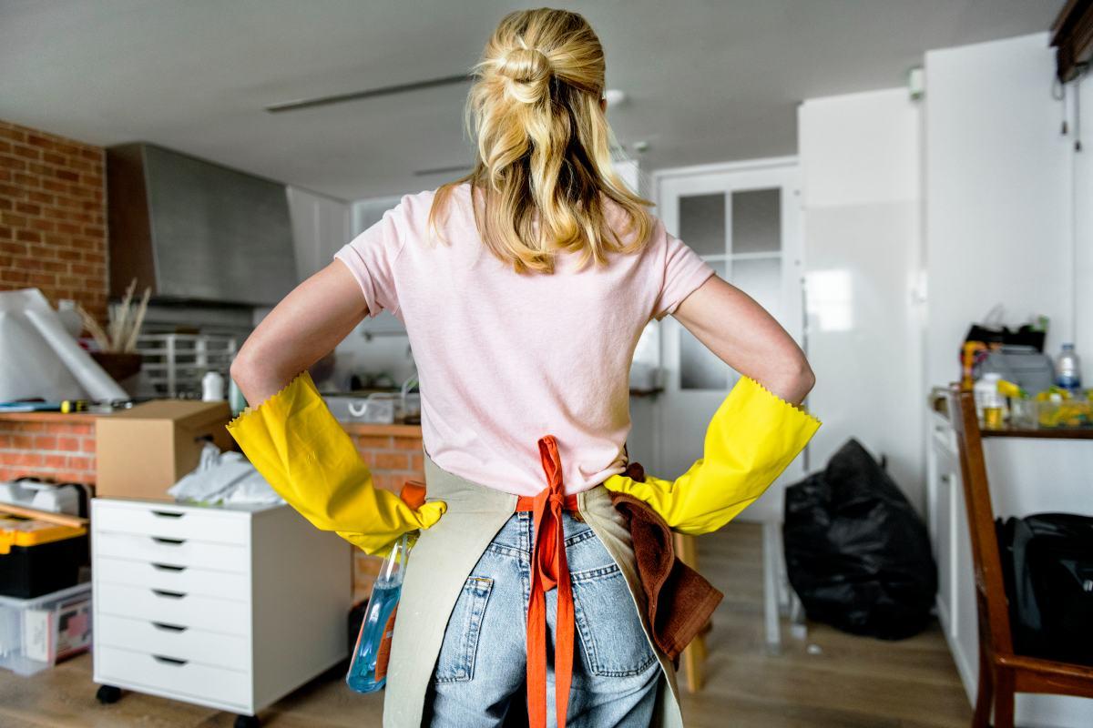 Čistenie domácnosti